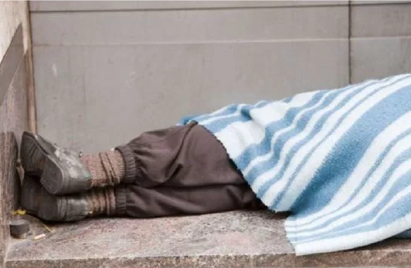 George welcomes extra funding to tackle rough sleeping