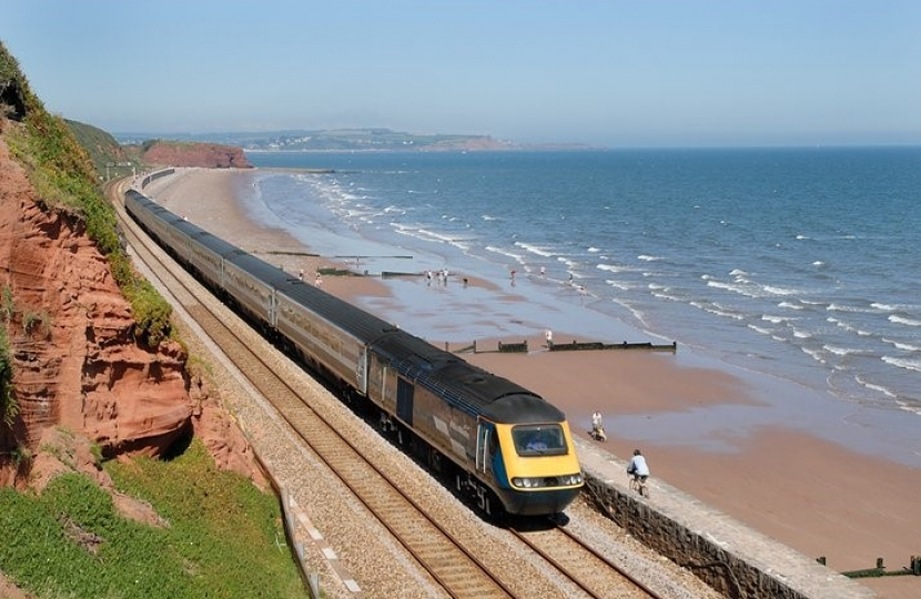 George welcomes news of additional rail services for Cornwall