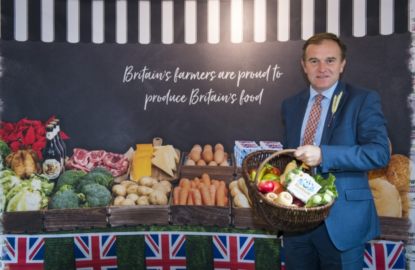 George Eustice calls for 0.2% of GDP to be spent on the farmed environment