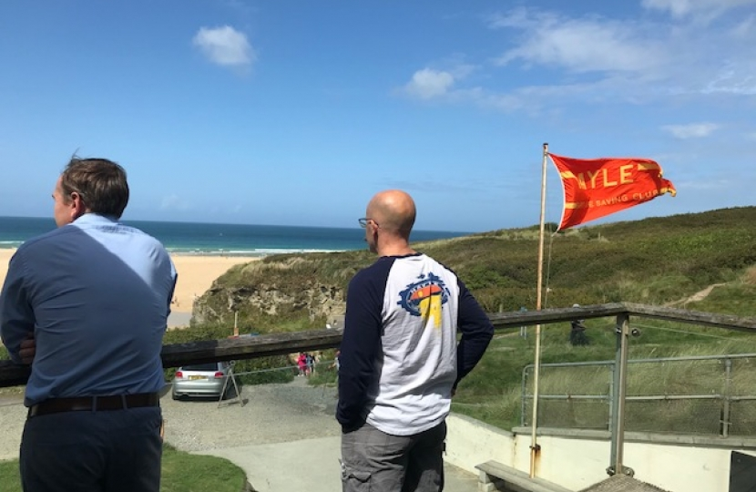 Search and rescue team in Hayle receives funding boost