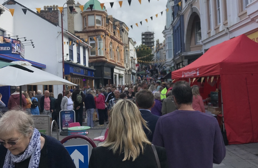 George welcomes funding boost for Redruth's highstreets