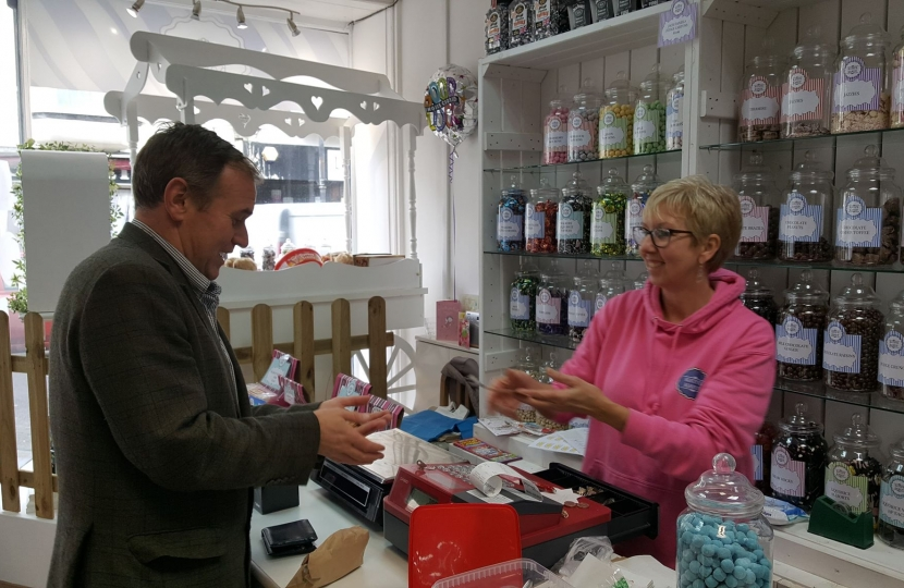 George welcomes further support for small businesses