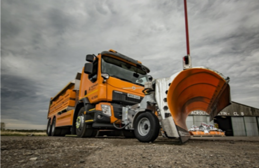 George Welcomes South-West Road Gritters for the Coming Winter
