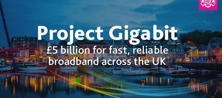 George welcomes the launch of 'Project Gigabit'