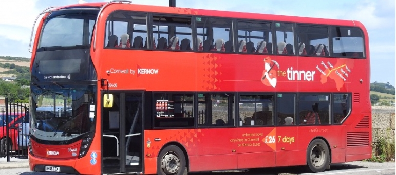George welcomes extra £3 billion in support for bus services