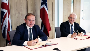 George Welcomes Signing of Historic UK-Norway Fisheries Agreement
